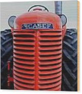 Case Tractor Grille Wood Print