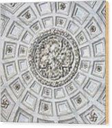 Caserta Royal Palace Wood Print