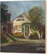 Cason Cottage Delray Beach Wood Print