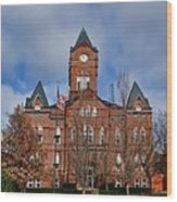 Cass County Courthouse Wood Print