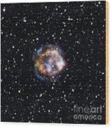 Cassiopeia A, Nustar X-ray Image Wood Print