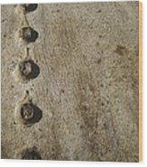 Cast Iron Wood Print