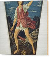 Castagno's David With The Head Of Goliath Wood Print