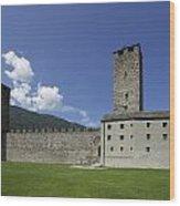 Castelgrande - Bellinzona II Wood Print