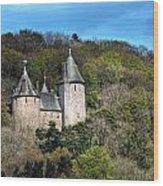 Castell Coch Cardiff Wood Print