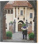 Castello Di Malpaga Wood Print