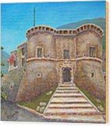 Castello Ducale Di Faicchio Wood Print