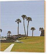 Castillo De San Marcos St Augustine Fl Wood Print