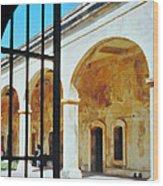 Castillo San Cristobal Wood Print