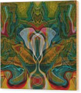 Casting Spells Wood Print by Omaste Witkowski
