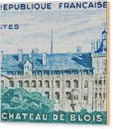 Castle Blois Wood Print