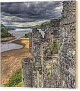 Kilchurn Castle Scotland Wood Print