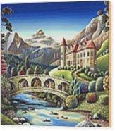 Castle Creek Wood Print