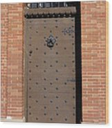 Castle Door Wood Print