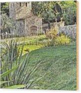 Castle Gate House Wood Print