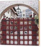 Castle Gate Wood Print