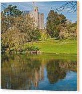 Castle Hedingham Wood Print