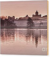 Castle Howard Dawn Wood Print