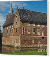 Castle In A Dutch Country Wood Print