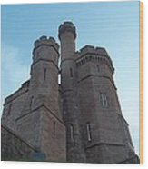 Castle In Inverness Wood Print