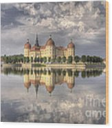 Castle In The Air Wood Print