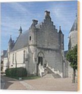 Castle Loches - France Wood Print