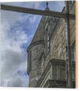 Castle Menzies From The Window Wood Print
