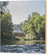 Castle Overlook Wood Print