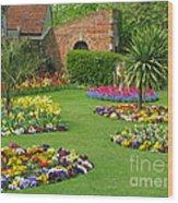 Castle Park Gardens  Wood Print