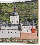 Castle Pfalzgrafenstein Wood Print