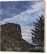 Castle Rock Wood Print