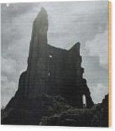 Castle Ruin Wood Print