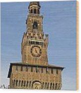 Castle Sforzesco Milan Wood Print