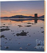 Loch Laich And Castle Stalker Wood Print