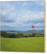 Castle Stuart Golf Links Wood Print