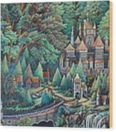 Castles Wood Print