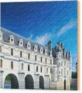 Castles Of France Wood Print