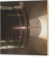 Castor 30 Rocket Motor Wood Print