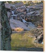Castor River Shut-ins Wood Print