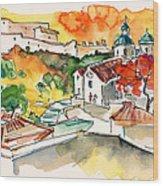 Castro Marim 2008 0208 Wood Print