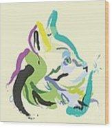 Cat Lisa Wood Print