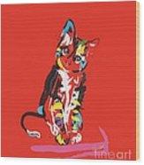 Cat Prins Wood Print