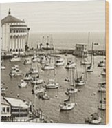 Catalina Island. Avalon Wood Print