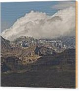 Catalina Mountains Tucson Arizona Wood Print