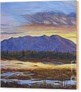 Catalina Sunrise Wood Print