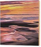 Catalina Sunset Wood Print