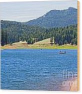 Catamount Fishermen Wood Print