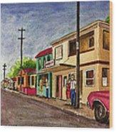 Catano Puerto Rico Street Wood Print