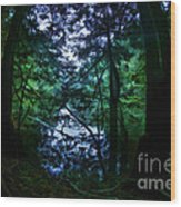 Cataracts Canyon Calm Water Wood Print