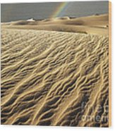 Catch A Rainbow Wood Print